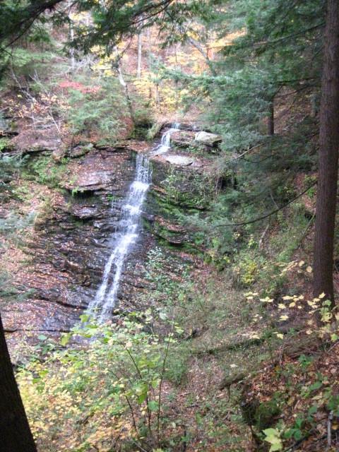 Waterfall...Pennsylvania Grand canyon