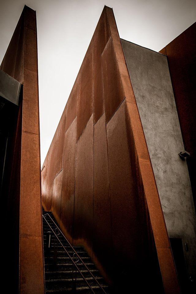 Rusty stairway