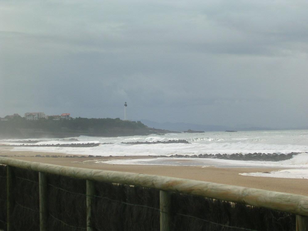 Temps triste sur la côte d'argent