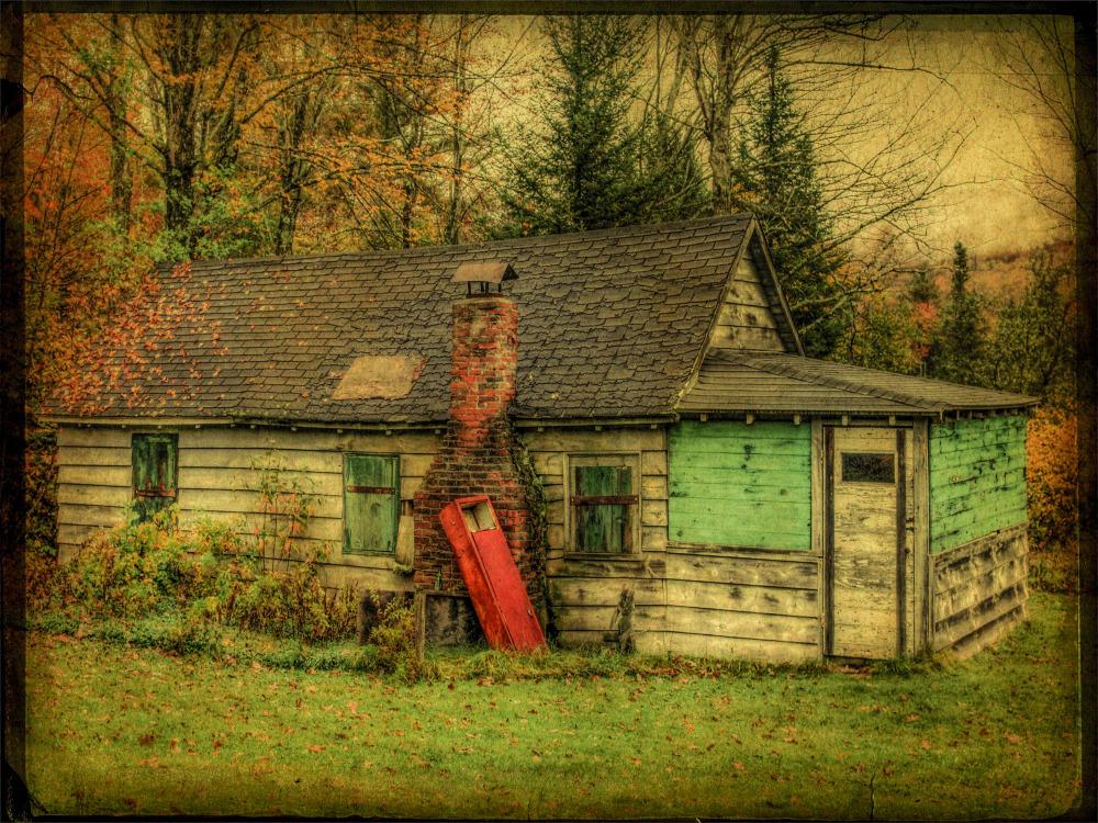 Abandoned House. New Hampshire.