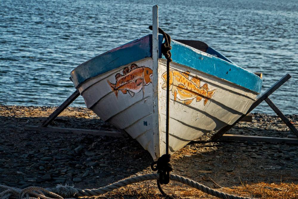 Fishing Boat. Hull Gut, Massachusetts.