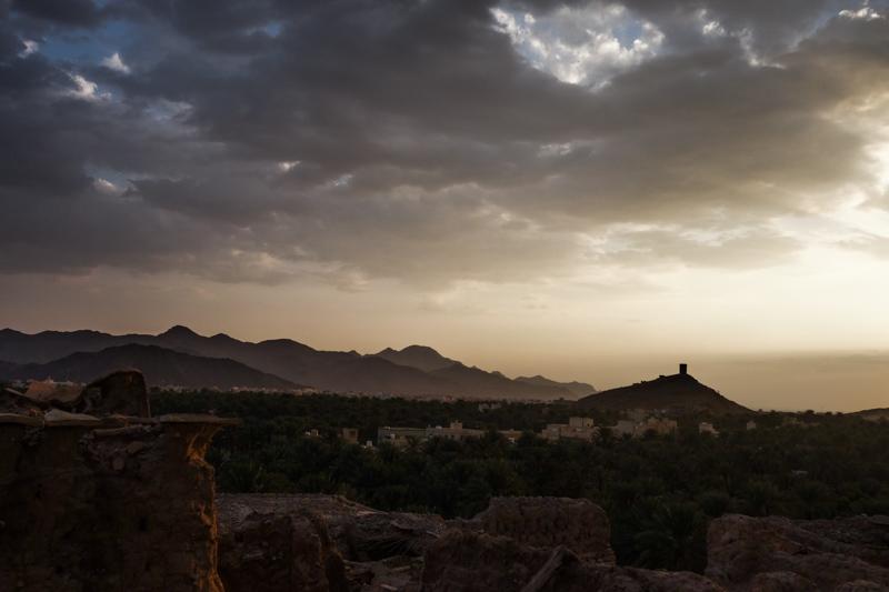 Soirée en Oman