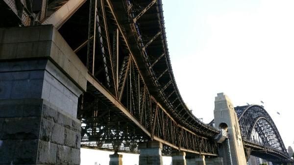 Harbour Bridge on Sunday evening