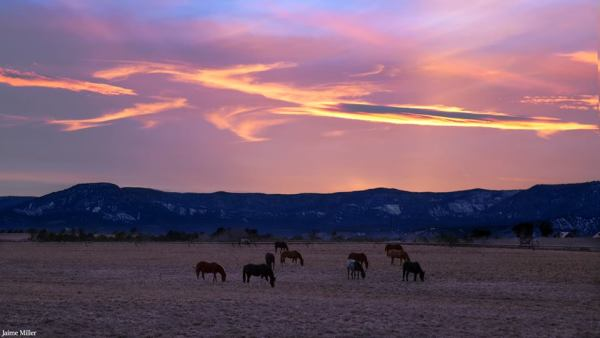 Durango, Colorado Sunset