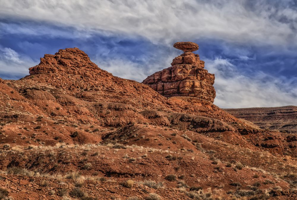 Mexican Hat, Utah sombrero rock formation