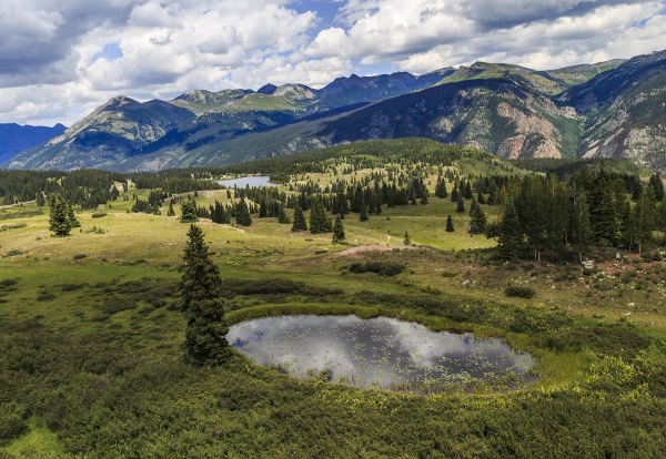 Molas Pass Near Silverton, Colorado