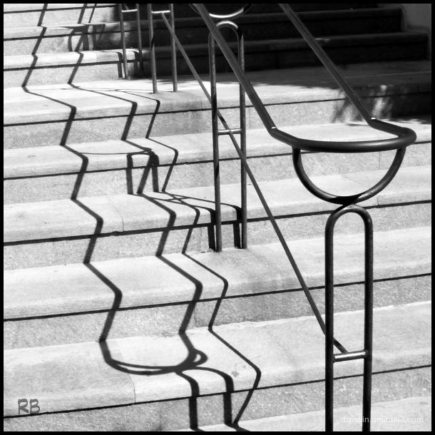 ombre et escalier