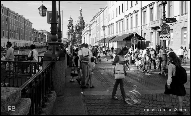 rue animée