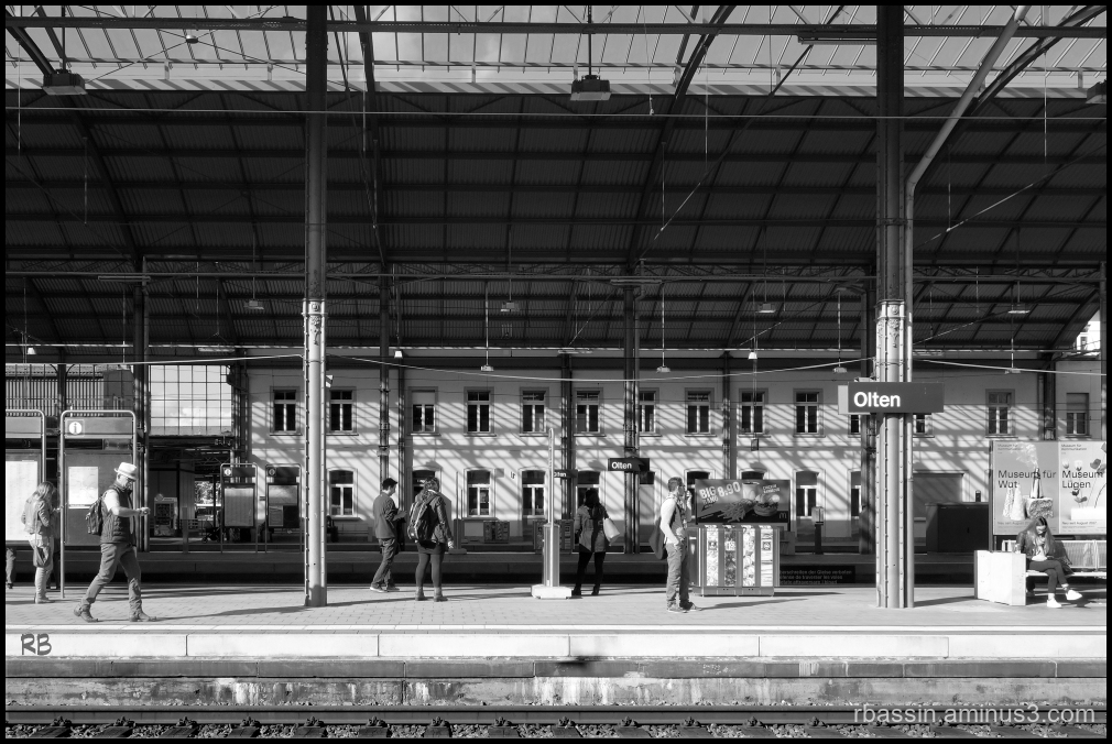Animation - gare