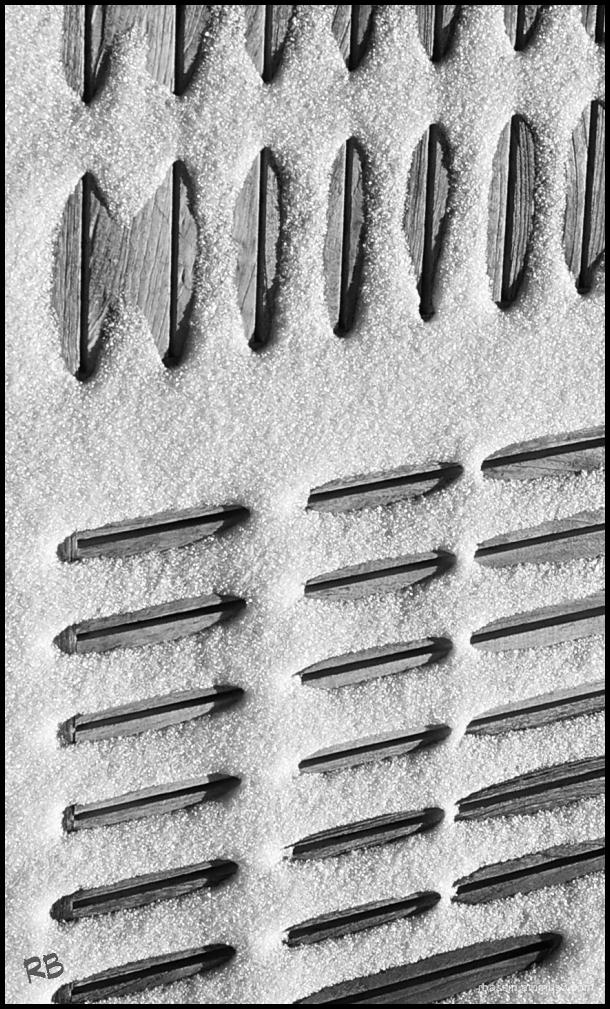 neige et formes