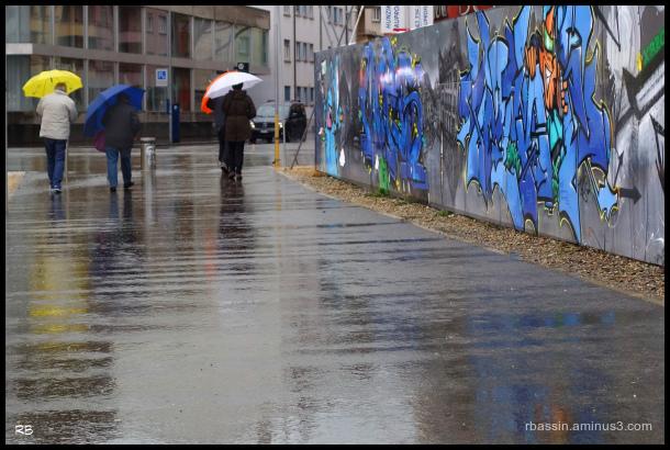 le bal des parapluies