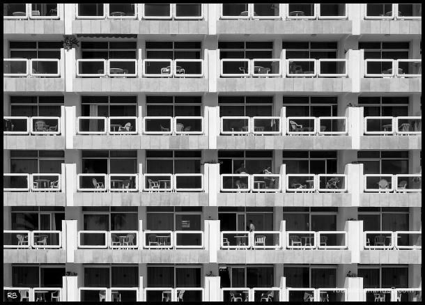 moment de vie sur les balcons