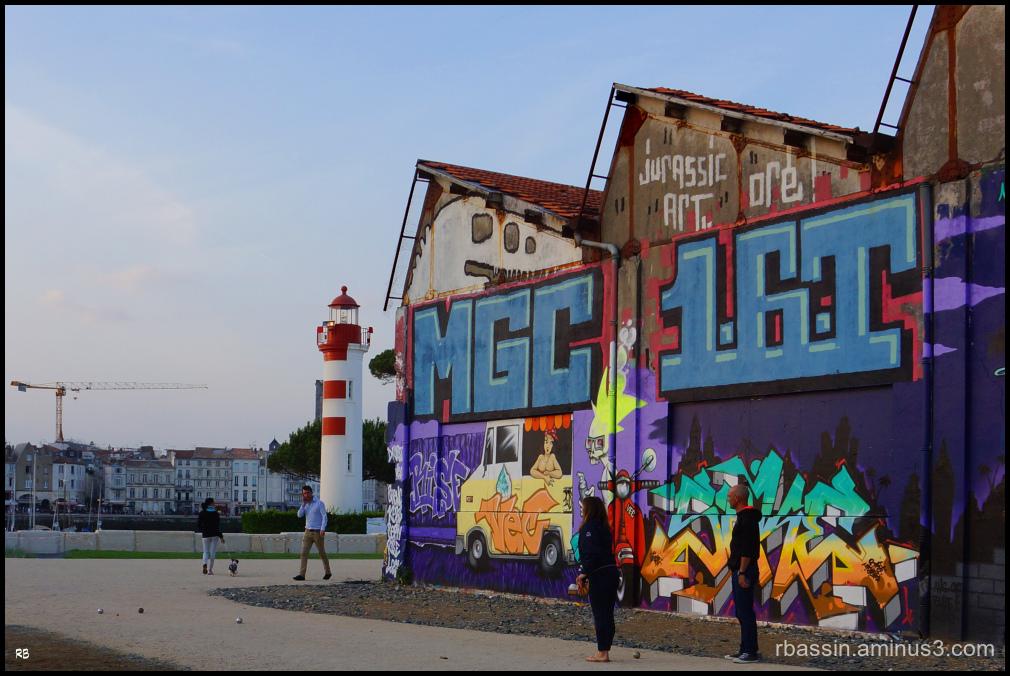 street art et pétanque