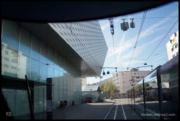 architecture et reflets