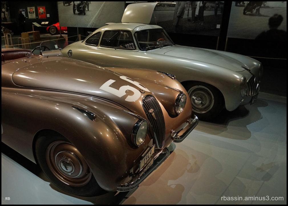 Jaguar XK 120 de 1949