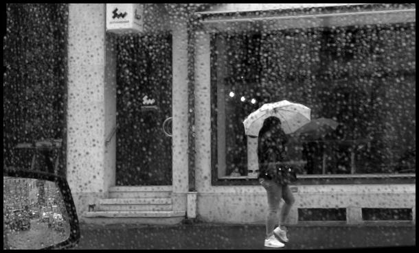 jour de pluie #4 - le parapluie