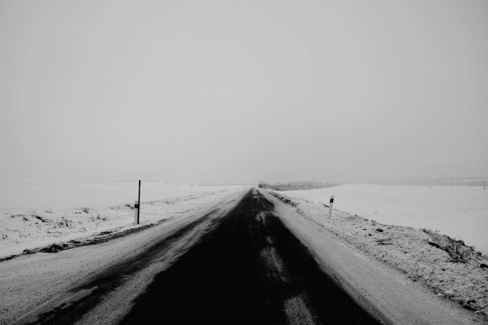 the road to hell near  Sabinov