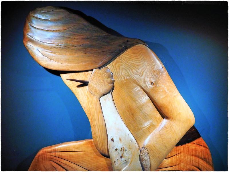 Portrait in Wood