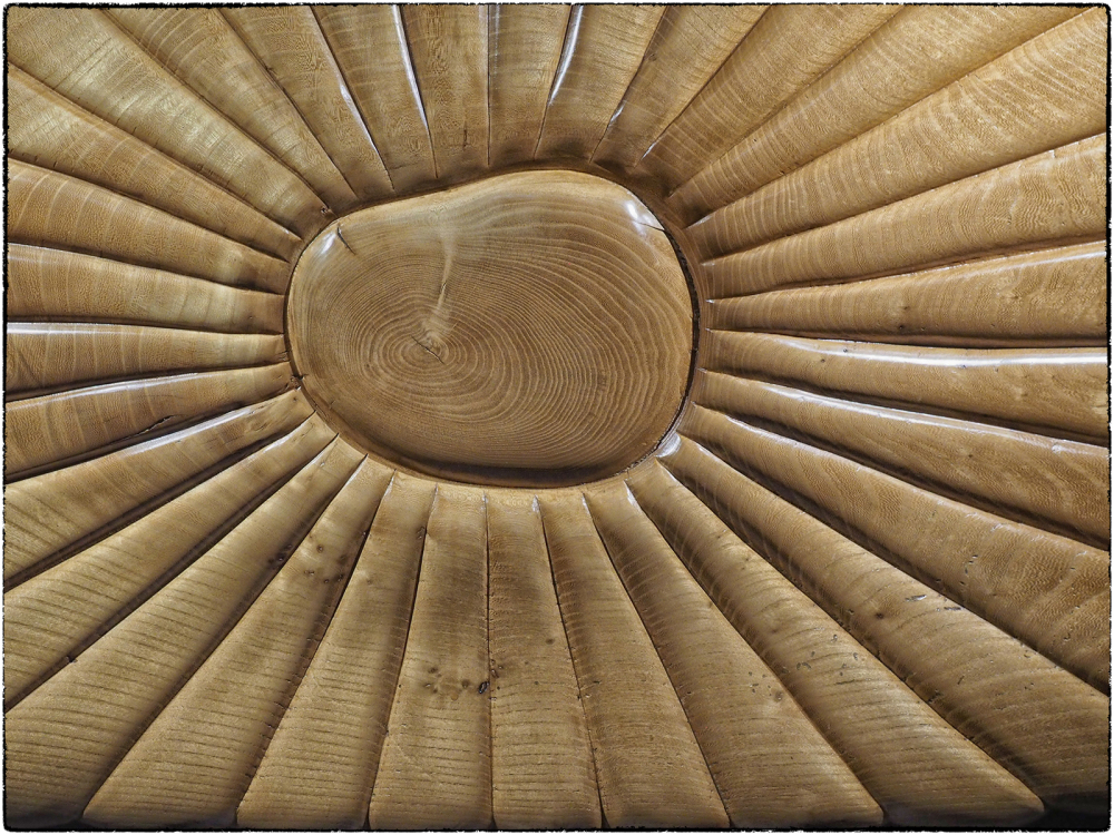 Sunburst in Wood