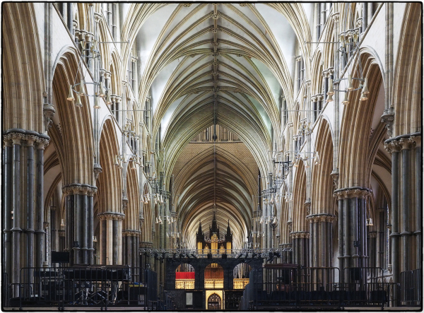 Interior Lincoln Cathedral