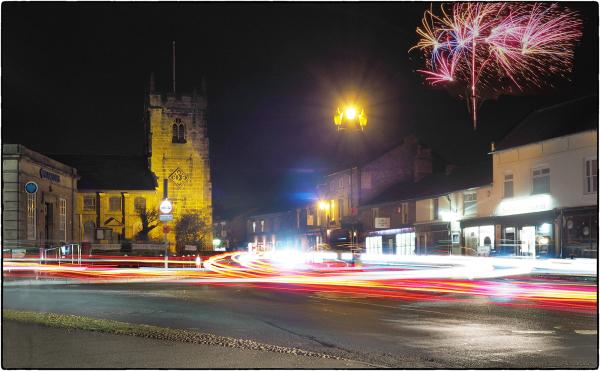 Fireworks Over St Lukes
