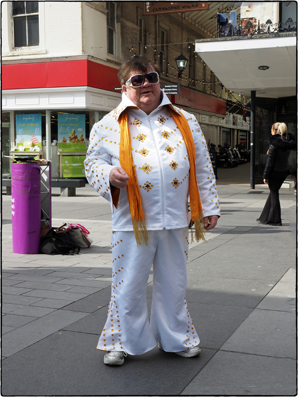 Elvis is in Town