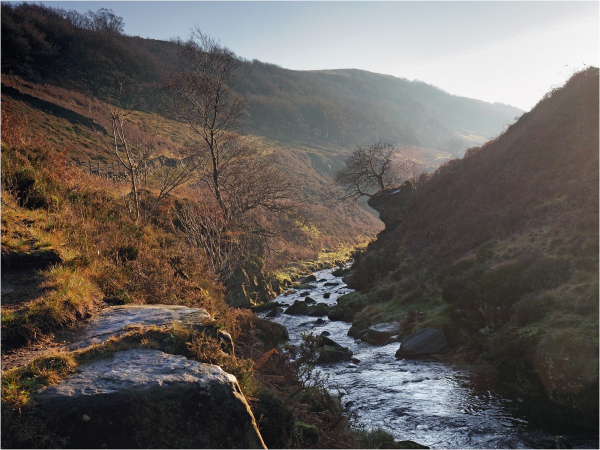 River Dane at Three Shire head