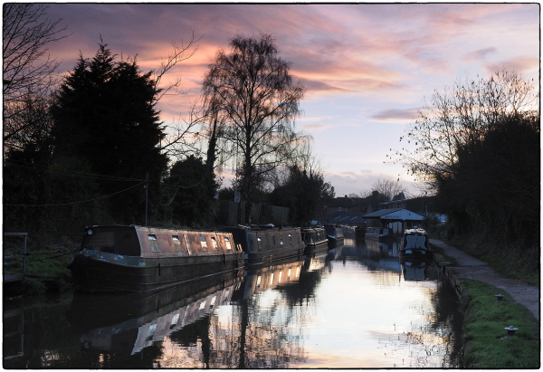 Evening Along The Canal