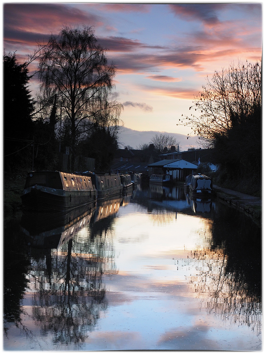 Evening at the Canal
