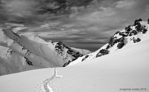 Mountains of Almaty - Ili Alatau on the Tyan Shan