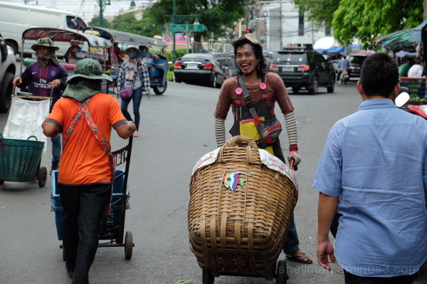 Colourful Cart Cowboy