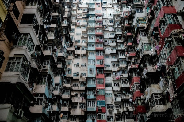 Yik Cheong Mansions AKA The Monster Building