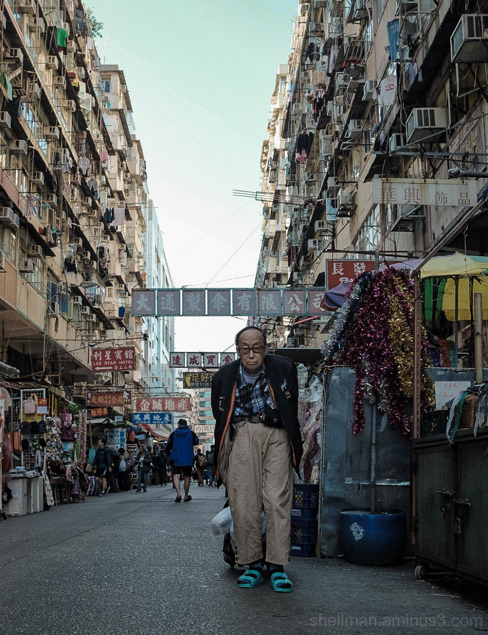 Shopping in Sham Shui Po