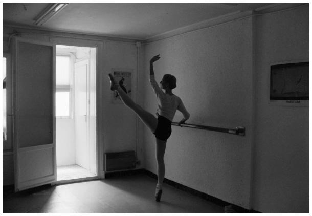 Ballet en el ático