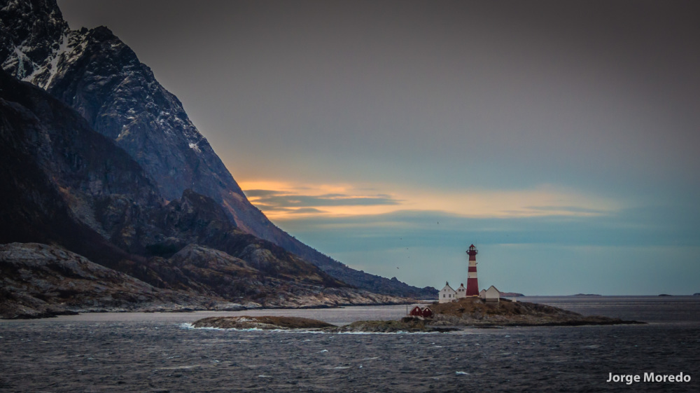 Lighthouse on the Vestfjord