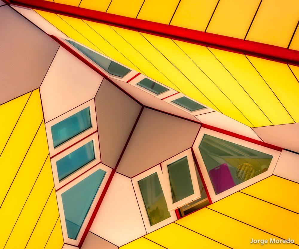 Kubus houses in Rotterdam