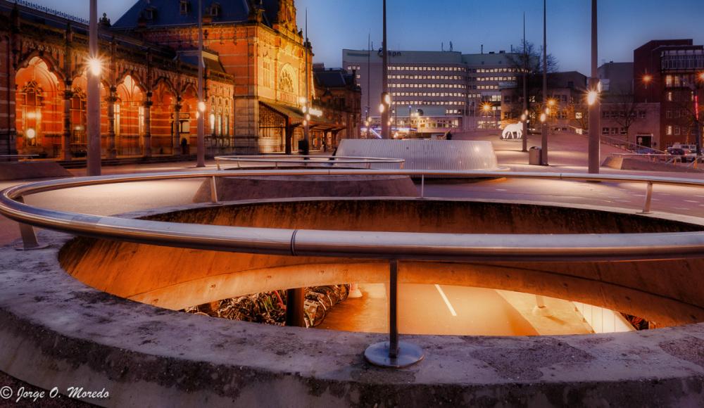 Station Square in Groningen