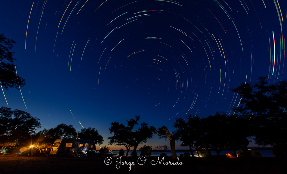The night sky over Alentejo