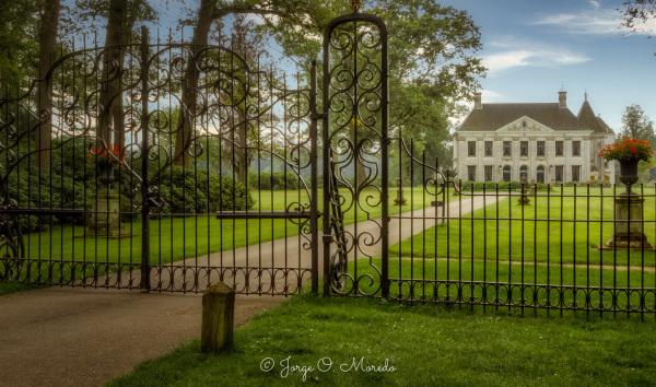 Singraven Castle in Nederland