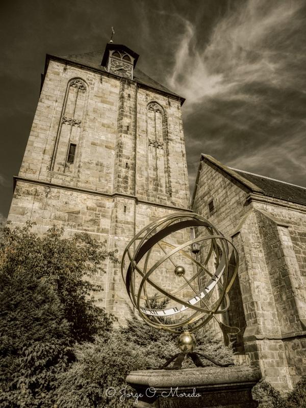 Sun clock in Delden