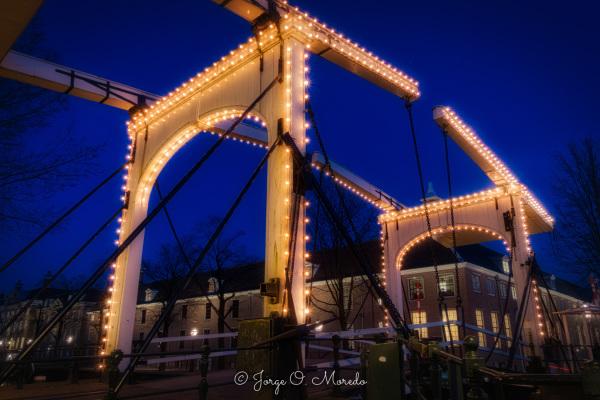 Ermitage Amsterdam with bridge