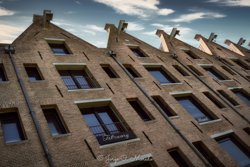 Old warehouses in Amsterdam