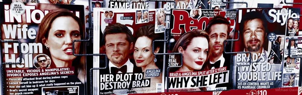 Anger for sale at the newsstand