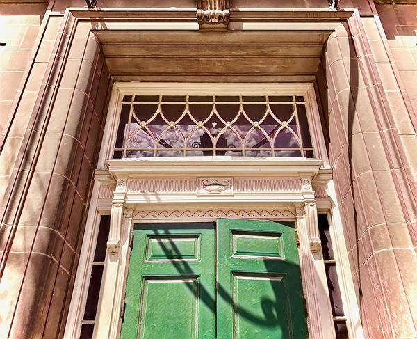 Georgian Entrance - Sculpture in wood