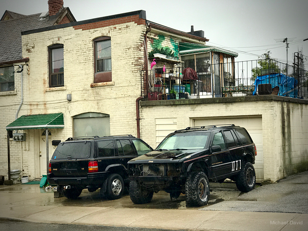 Black Jeep parking only