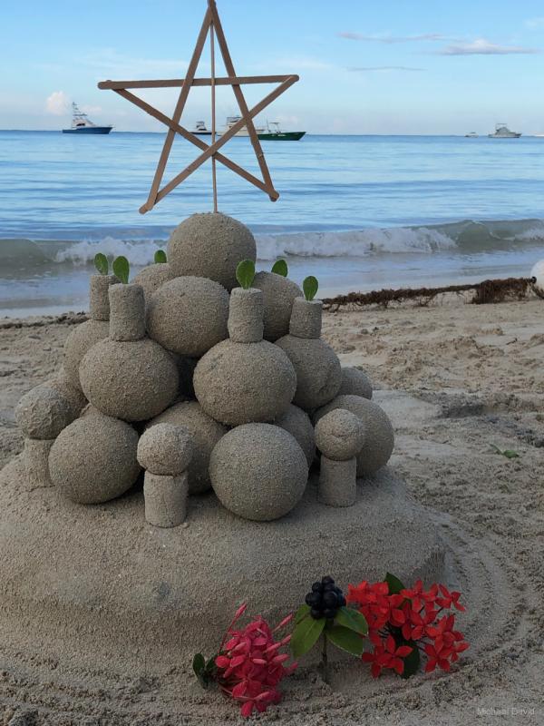 Beach totem