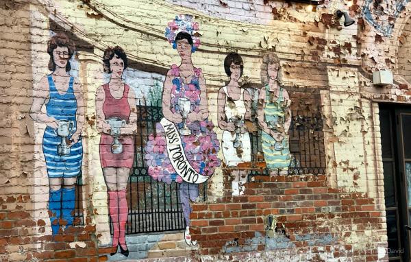 fading paint, fading attitudes towards women