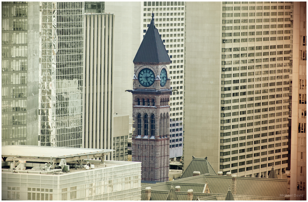 Toronto's once tallest tower