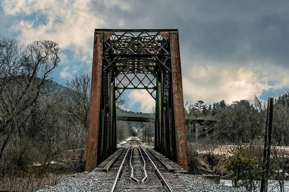 Railway Bridge Vermont