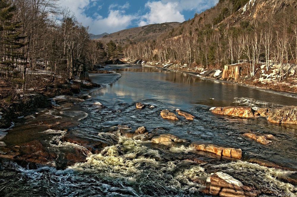 Pemigewasset River New Hampshire.